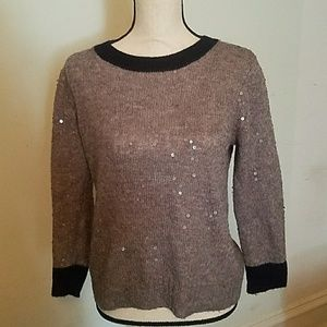 Lovely J. Crew Sequin Sweater